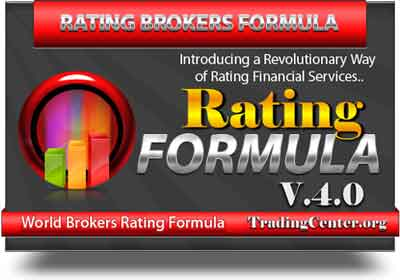 FOREX RATING FORMULA v.4.0. -A BRAND NEW WAY TO RATE FINANCIAL SERVICES